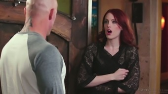Scarlet haired seductress Alex Harper is agreeable her traditional patient
