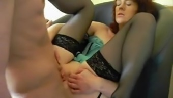 Horny grannies love having anal passage intercourse and face