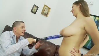 Stunning Alex Risk finally gets to get a delightful dick
