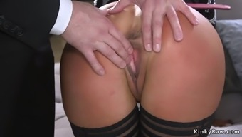 Big booty Milf spanked and rectum fucked
