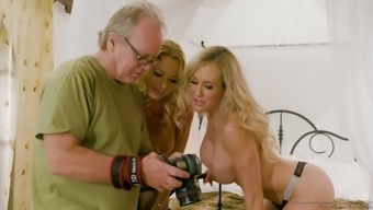 Realistic infamous porno occasional actress Julia Ann in behind the scenes xxx interview
