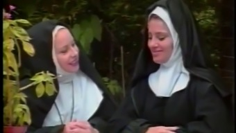 Nun gets spanked for being sinful